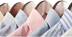 clean ironed shirts